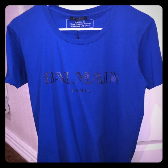 balmain t shirt 2018